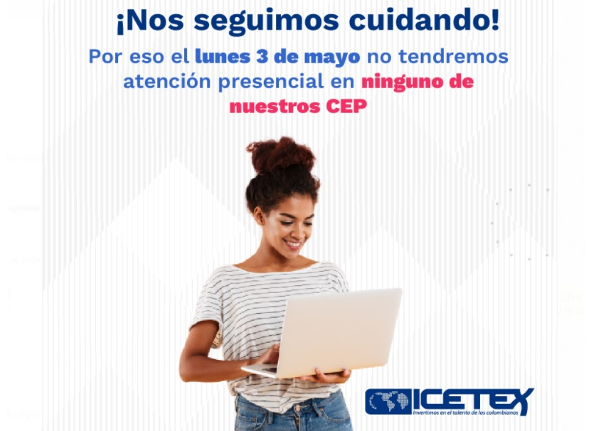 foto atención virtual-telef ICETEX